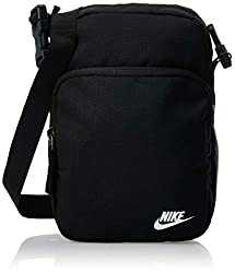 Nike NK Heritage Smit - 2.0 Gym Bag, Black/Black/(White), MISC