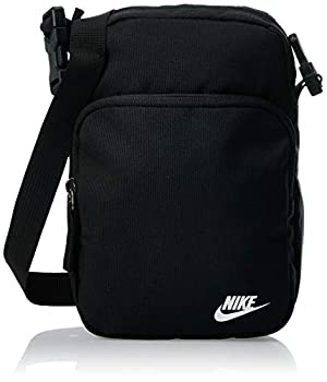 Nike NK HERITAGE Smit - 2.0 Sac de gym Black/Black/(White) FR: Taille Unique (Taille Fabricant: MISC)