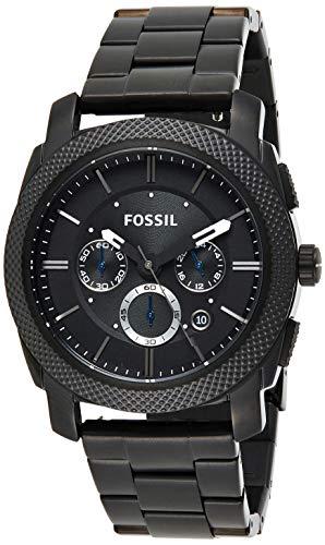 Fossil Chronograph Herren Uhr mit Edelstahl Armband FS4552IE