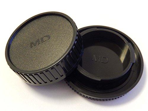 vhbw Objektiv Deckel Set mit MD-System Kamera Minolta Sony A33 A55 A100 A200 A230 A300 A350 A450 A500 A550 A580 A700 A750 A850 A900