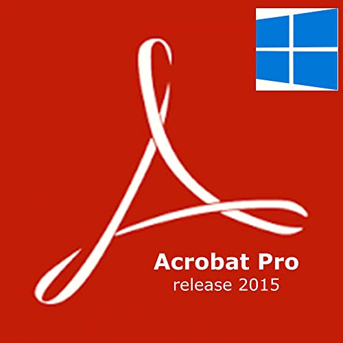 Adobe Acrobat Pro DC 2015 - Software De Gestión Multimedia (Windows), 1 Usuario, Retail