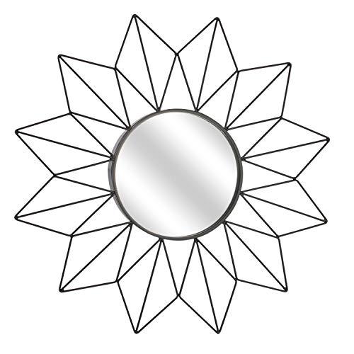 Sonnenspiegel 50 cm schwarz