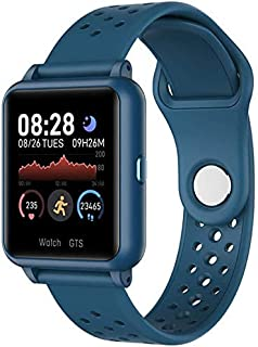 Gymqian Fitness Tracker P8 Fitness Watch Intelligent 1.3In Pantalla de Color Todo Touching Sport Fitness Tracker Impermeable Heart Rate Toate Monitoring Watch Sport Fitness Tracker Ex