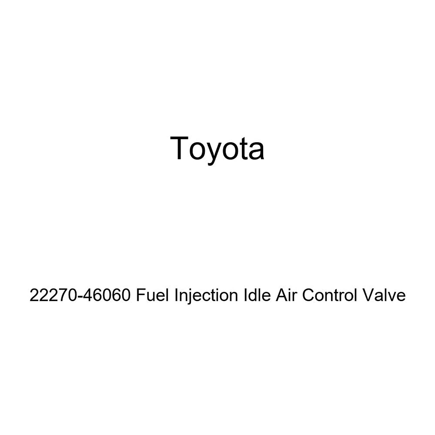 Toyota 22270-46060 Fuel Injection Idle Air Control Valve