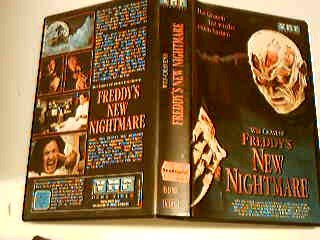 Freddys new nightmare VHS