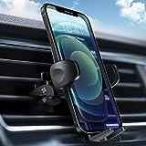 Soporte Movil Coche, Modohe Soporte Teléfono para Rejilla del Aire, Diseño Ajustable con Rotación 360° y un Práctico Botón de Liberación, Compatible con iPhone, Samsung y Huawei