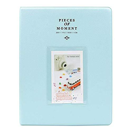 64 bolsillos para Fujifilm Mini películas para Instax Mini 8 7S 70 25 50S 90 tarjetas de nombre piezas de álbum de fotos Momento