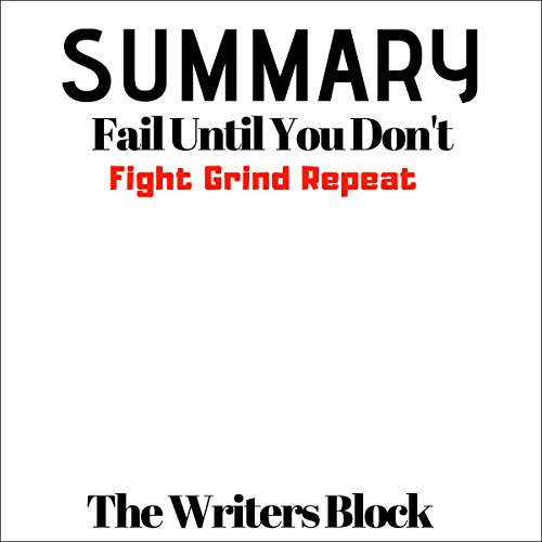 Summary: Fail Until You Don't audiobook cover art