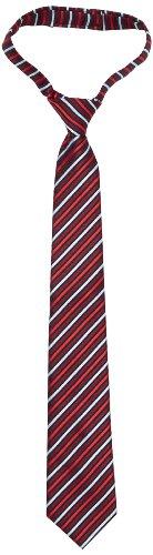 G.O.L. Jungen Krawatte, fertig gebunden, Kariert, Gr. One size (HerstellergröÃYe: 1), Rot