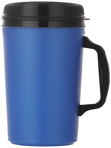 ThermoServ 535A02601A1 Foam Insulated Mug, 34-Ounce, Pearl Dark Blue