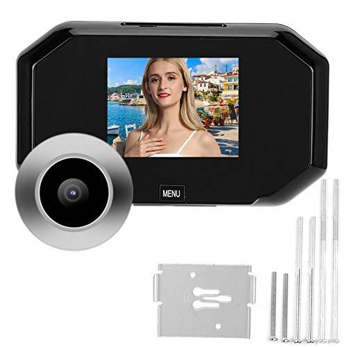 Xuzuyic Smart Doorbell 720P HD Smart Door Viewer Video Timbre Sistema de intercomunicación para Seguridad en el hogar