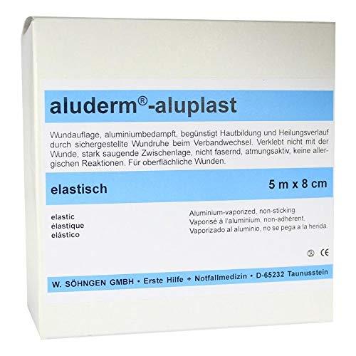 ALUDERM aluplast Wundverb.Pfl.8 cmx5 m elast. 1 St