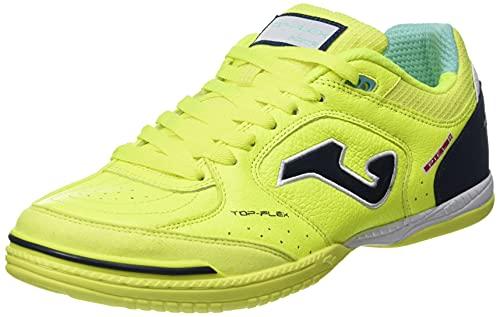 Joma Top Flex, Zapatillas de Futsal Hombre, Amarillo Fluor, 42 EU