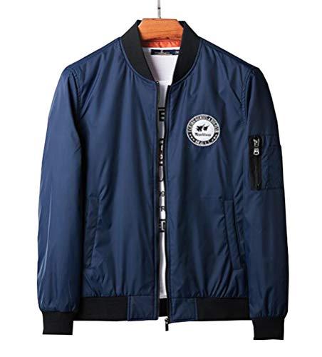 [Senneak] フライトジャケット MA-1 メンズ リバーシブル ジャケット ミリタリー ブルゾン ジャンパー アウター 秋 冬 春 防寒 防風 カジュアルM-3XL