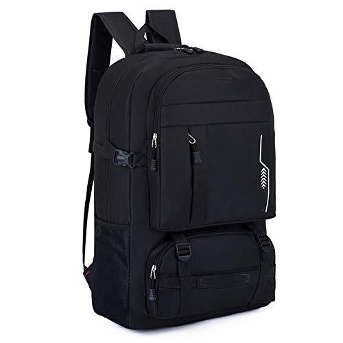 Mochila de agua para senderismo, mochila táctica para hombres, mochila táctica de camuflaje de 40 l para camping multifuncional bolsa de hombro táctica, color estilo 6, tamaño Taille unique
