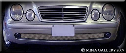 Mina Gallery Lower mesh Grille (1 Part Version) for Mercedes CLK CLK430 CLK320 1997 1998 1999 2000 2001 2002 2003
