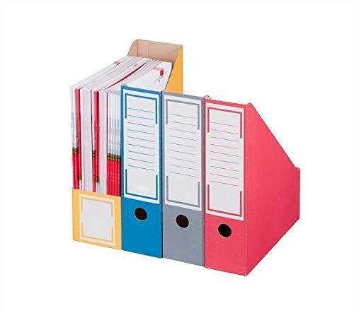 Archiv-Stehsammler 257 x 97 x 317 mm blau Archivschachtel Archivkarton 20 Stück