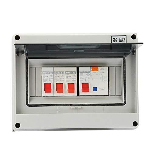 Zoternen Stromschutzschalter, 3 Wege, 63 A, 30 mA, RCD 3MCB (6A+16A+32A)