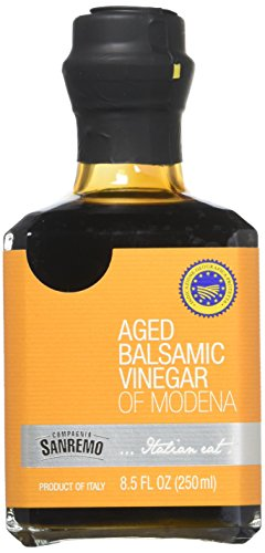Sanremo Aged Balsamic Vinegar of Modena, 8.5 oz, Prodcuct of Italy