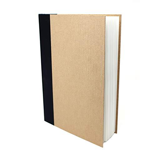 Artway Enviro - Bloc con Encuadernado de Tipo Libro - Papel Cartridge 100% Reciclado - Tapas de aglomerado - 170 gsm - 46 Hojas - 1 x Retrato A4