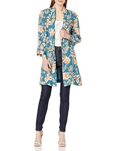 cute bohemian floral coat