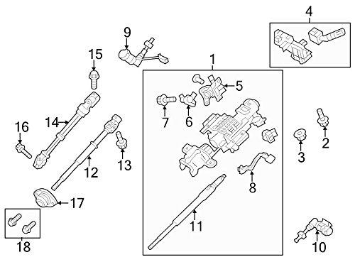 Ford OEM Steering Shaft BL3Z3B676A Image 14