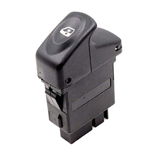 ACEHE Interruptor de elevación de Coche, botón de Interruptor de Espejo de Ventana eléctrico para Renault Kangoo Megane Clio 7700838100 exquisitamente diseñado Duradero