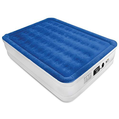 SoundAsleep Products Air Mattress with ComfortCoil Technology & Internal High Capacity Pump