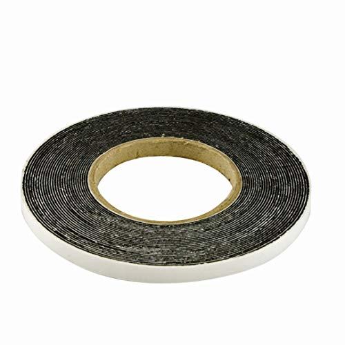 Ruban de compression 20/4Anthracite En rouleau de 8m, largeur 20mm, extensible de 4à 20mm, ruban d'étanchéité, bande compressible