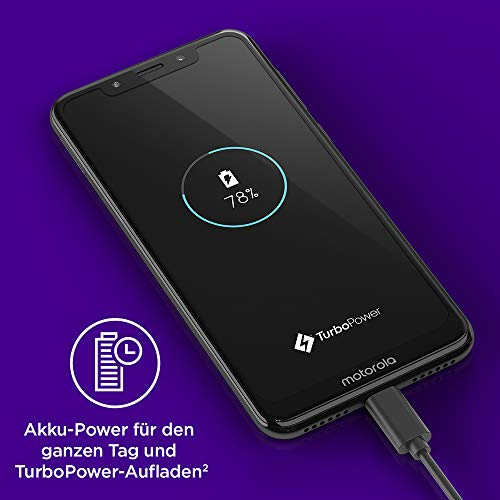 Motorola Mobility PAD40000DE Smartphone 5, 86 Pouces 4 Go RAM/64 Go Android Blanc