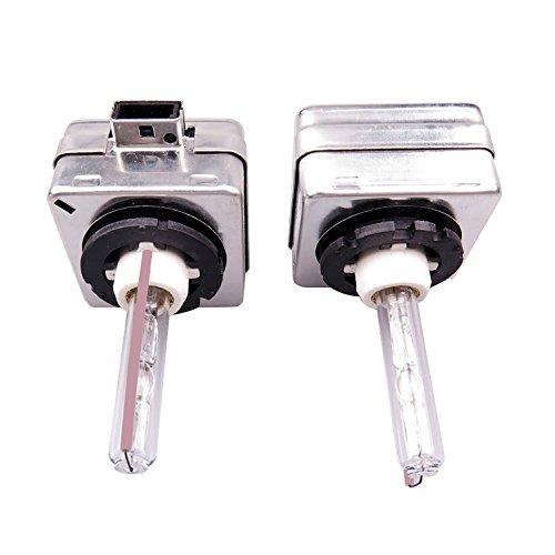 SODIAL(R)2x HID Xenon remplacement de phare pour Philips ou OSRAM ampoules, D1S 35W / 10000K