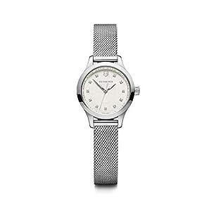 Victorinox Mujer Alliance XS – Reloj analógico de Cuarzo de Acero