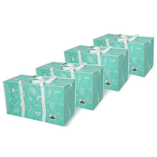 ATBAY Moving Tote Bags Extra Large Reusable Closet Organization Storage Bags...