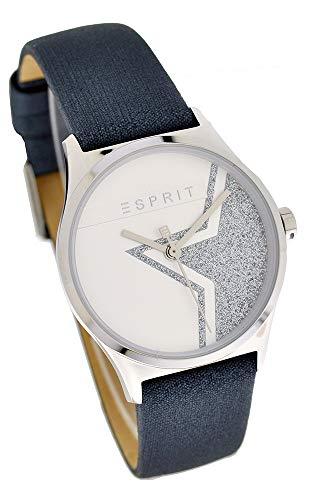 Esprit Damenuhr ES1L034L0255 Sparkle Star Silber Black UVP:99,90€11553