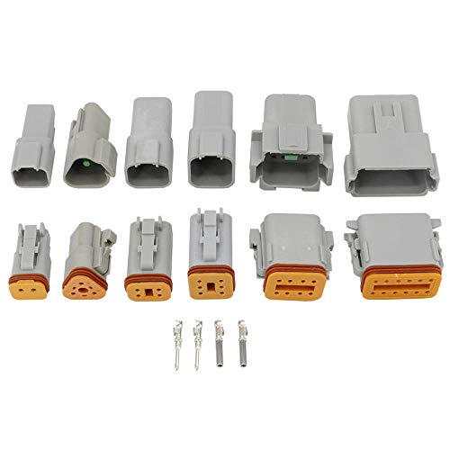 6181-6850 1 Set 8 Pin waterproof connector low with high with LED headlight speaker plug with terminal 6189-7423