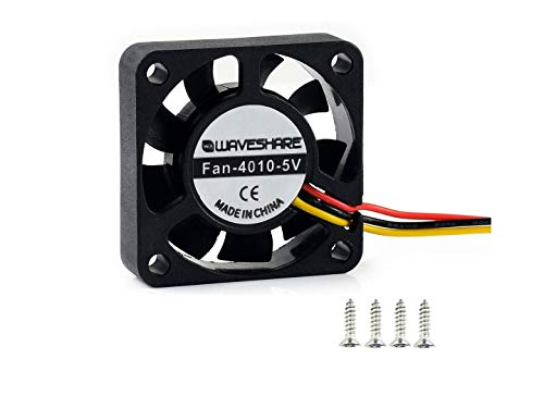 IBest Dedicated DC 5V Cooling Fan for Jetson Nano, 3PIN Reverse-Proof Connector 40mm×40mm×10mm Fan