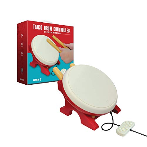 Armor3 Taiko Drum Controller with Sticks for Nintendo Switch - Nintendo Switch