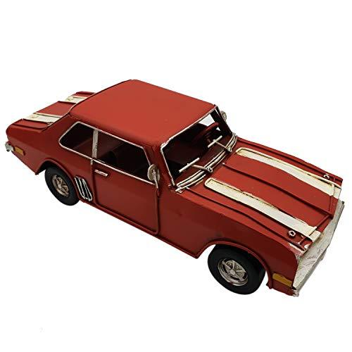 DynaSun Art Maqueta de coche de época vintage de metal, de colección de estilo retro antiguo, escala 1:20, 25 cm