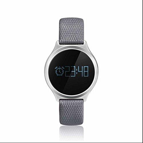 Fitness Tracker Sport orologio Smart Fitness Braccialetto Pedometro con Pedometro/Messaggio Notifiche/Monitor del Sonno/Sedentario allarme Pedometro con Bluetooth 4.0 smart Bracciale Compatibile con Android e IOS