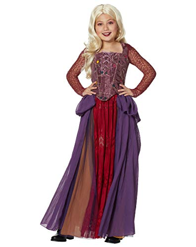 Deluxe Officially Licensed Brown Spirit Halloween Hocus Pocus Mary Sanderson Wig for Adults