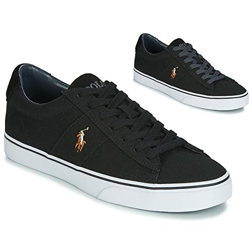 Ralph Lauren Polo Sayer Sneakers Uomini Nero - 41 - Sneakers Basse