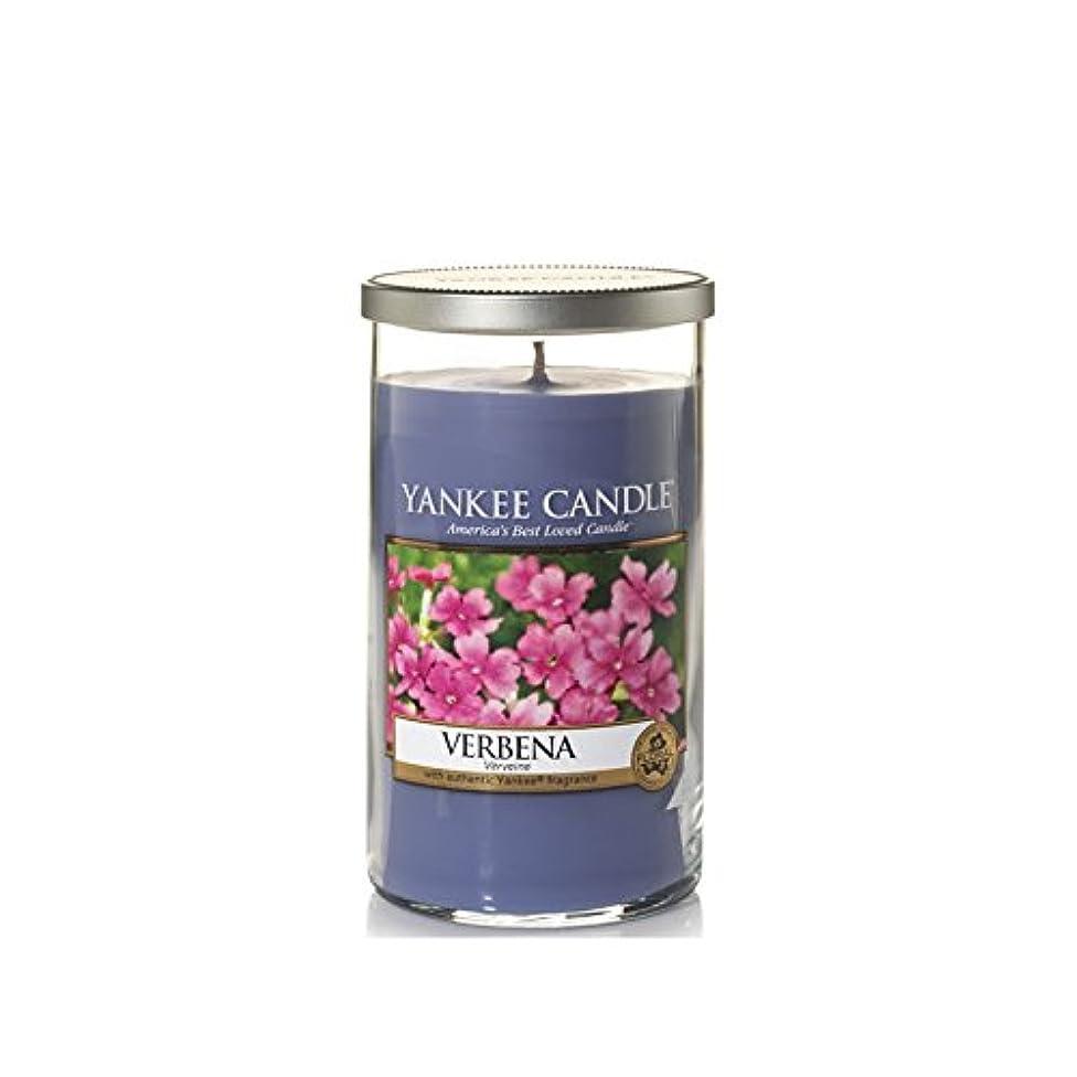 Yankee Candles Medium Pillar Candle - Verbena (Pack of 6) - ヤンキーキャンドルメディアピラーキャンドル - バーベナ (x6) [並行輸入品]
