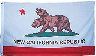 Ahaylyn 3x5 New California Republic Flag Banner