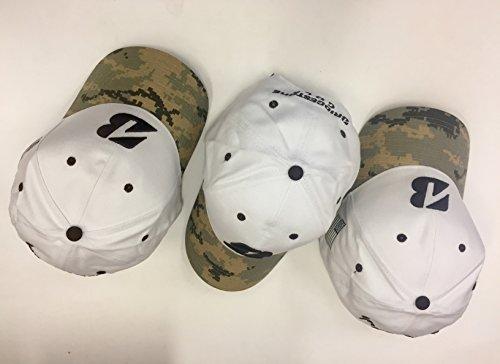 Bridgestone Golf Hats- 3-Hats, Adjustable Strap fits Most,
