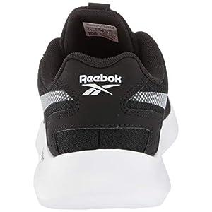 Reebok mens Reebok Energylux 2.0 Cross Trainer, Black/White/Black, 9.5 US