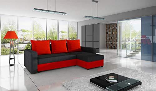 Ecksofa Couch –  günstig Mirjan24 Top  Microfaser 07 Bild 4*