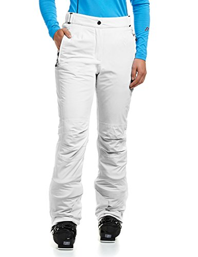 Maier Sports Damen Skihose Vroni, Weiß (white/600), Gr. 19