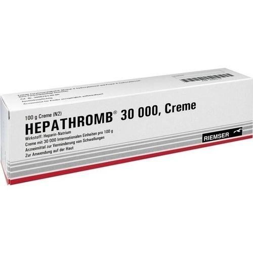 HEPATHROMB 30000 100g Creme PZN:4090218