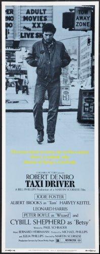 Taxi Driver Affiche du film Insert 14x 36# 01