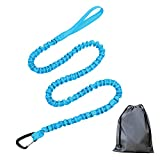 Hansuo1PC Bicycle-strengthened Tow Rope | Parent-Child, Beginner Bike Riders,Bungee Kids MTB,Avoid Falls and Loss of Personnel,Emergency Tow Strap 4.5M with Storage Bag,Mountain Bike Accessories(Blue)